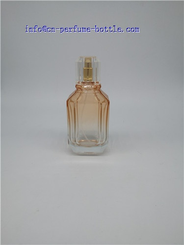 100ml clear glass perfume bottle with oem logo
