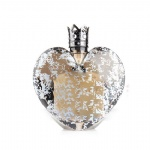 30ml 70ml heart shape perfume bottle with metal cap