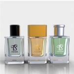 100ml colored empty perfume bottle